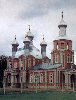 Храм Благовещения перед освящением