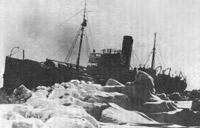 Георгий Седов среди льдов