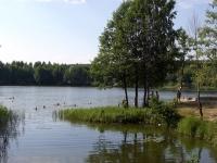 Купание на озере